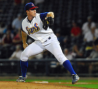 Jon Meloan of the Jacksonville Suns at the 2007 Southern League All-Star Game July 9, 2007, at Trustmark Park, sponsored by the Mississippi Braves, in Pearl, Miss. Photo by:  Tom Priddy/Four Seam Images