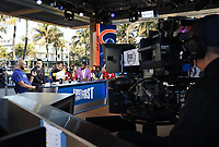 MIAMI BEACH, FL - JANUARY 29: First Thing First at the Fox Sports South Beach studio during Super Bowl LIV week on January 29, 2020 in Miami Beach, Florida. (Photo by Frank Micelotta/Fox Sports/PictureGroup)