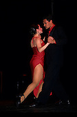 Buenos Aires, Argentina.  A couple dancing the tango.