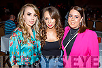 Shauna Moriarty, Megan O'Sullivan and Orla Phoenix enjoying the Bon Jovee fundraiser in the Brandon Hotel on Saturday.