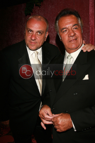 Vincent Curatola and Tony Sirico<br />at the 2006 HBO Emmy After Party. Pacific Design Center, West Hollywood, CA. 08-27-06<br />Dave Edwards/DailyCeleb.com 818-249-4998