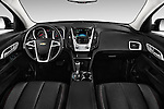 Stock photo of straight dashboard view of 2017 Chevrolet Equinox LT 5 Door Suv Dashboard