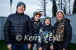 Richie, Rory, Dara and Kathleen Vaughan at home in Newcastlewest