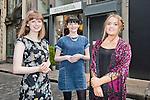 Siopaella - 25A Temple Lane South, Temple Bar, Dublin 2<br /> L- R Tanya, Sinead & Ciara<br /> Pic Angela Halpin