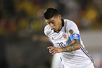 Pasadena, CA - Tuesday June 07, 2016: Colombia midfielder James Rodríguez (10) during a Copa America Centenario Group A match between Colombia (COL) and Paraguay (PAR) at Rose Bowl Stadium.
