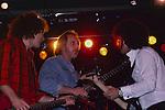 John Entwistle & Mike Reno at NAMM 1987.