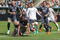 Portland, Oregon - Sunday, April 22, 2018: Portland Timbers vs New York City FC in a match at Providence Park.