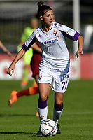 Greta Adami of ACF Fiorentina in action during the women Serie A football match between AS Roma and ACF Fiorentina at Tre Fontane Stadium in Roma (Italy), November 7th, 2020. Photo Andrea Staccioli / Insidefoto