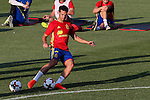 Spanish Cesa Azpilicueta during the first training of the concentration of Spanish football team at Ciudad del Futbol de Las Rozas before the qualifying for the Russia world cup in 2017 August 29, 2016. (ALTERPHOTOS/Rodrigo Jimenez)