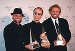 Bee Gees 1997  Maurice Gibb, Robin Gibb and Barry Gibb at American Music Awards
