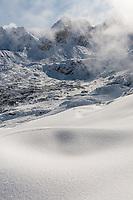 Winter view on Gasieniciwa Valley, Tatra Mountains, Poland