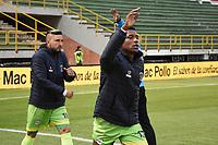 TUNJA - COLOMBIA, 08-10-2020: Boyacá Chicó y Jaguares de Córdoba en partido por la fecha 12 de la Liga BetPlay DIMAYOR I 2020 jugado en el estadio La Independencia de la ciudad de Tunja. / Boyaca Chico and Jaguares de Cordoba in match for the date 12 of the BetPlay DIMAYOR League I 2020 played at La Independencia stadium in Tunja city. Photo: VizzorImage / Edward Leguizamon / Cont