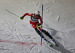 in action during the Men's Slalom of the Super Combination of the Alpine FIS Ski World Cup on 23/01/2015 in Kitzbuehel, Austria.