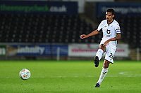 Kyle Naughton of Swansea City in action during the Carabao Cup Second Round match between Swansea City and Cambridge United at the Liberty Stadium in Swansea, Wales, UK. Wednesday 28, August 2019.