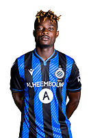 20th August 2020, Brugge, Belgium;  Eric Appiah pictured during the team photo shoot of Club Brugge NXT prior the Proximus league football season 2020 - 2021 at the Belfius Base camp