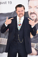 """Tom Bennett<br /> arrives for the """"David Brent: Life on the Road"""" premiere at the Odeon Leicester Square, London.<br /> <br /> <br /> ©Ash Knotek  D3143  10/08/2016"""