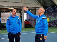 Januari 24, 2015, Rotterdam, ABNAMRO, Supermatch, Umpires<br /> Photo: Tennisimages/Henk Koster