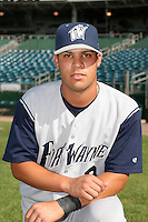 Fort Wayne Wizards Jodam Rivera poses for a photo before a Midwest League game at Oldsmobile Park on July 13, 2006 in Fort Wayne, Indiana.  (Mike Janes/Four Seam Images)