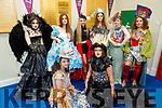 The students of Gaelcholáiste Chiarraí diplay their creations for this years Junk Koture at the school on Friday. <br /> Kneeling l to r: Ella Ní Bhraoin and Saoirse Ní Mhaoldomhnaigh.<br /> Standing l to r: Ella Ní hAnnáin, Laura Ní Lionnáin, Katie De Rossa, Aoife Ní Shúilleabháin, Máire Sabhaois and Ella Gabhann.