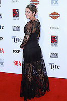 HOLLYWOOD, LOS ANGELES, CA, USA - SEPTEMBER 06: Natalie Skyy  arrives at the Los Angeles Premiere Of FX's 'Sons Of Anarchy' Season 7 held at the TCL Chinese Theatre on September 6, 2014 in Hollywood, Los Angeles, California, United States. (Photo by David Acosta/Celebrity Monitor)
