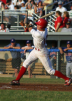 July 4, 2003:  Joe Brunink of the Batavia Muckdogs during a game at Dwyer Stadium in Batavia, New York.  Photo by:  Mike Janes/Four Seam Images