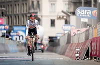 Pello Bilbao (ESP/Bahrain - Victorious) finishing in front of the Duomo in Milan<br /> <br /> 104th Giro d'Italia 2021 (2.UWT)<br /> Stage 21 (final ITT) from Senago to Milan (30.3km)<br /> <br /> ©kramon