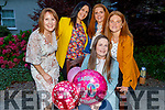 Mary O'Sullivan from Athea celebrating a surprise 40th birthday in the Ballygarry House Hotel on Saturday. Seated: Mary O'Sullivan. Standing l to r: Kathleen Atkins, Mary B, Gillian and Daphne Gleeson,