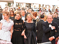 Camille Moreau Julie Depardieu Julie Gayet attend 'The Unknown Girl (La Fille Inconnue)' Premiere during the 69th annual Cannes Film Festival at the Palais des Festivals on May 18, 2016 in Cannes, France