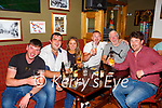 Locals celebrating the reopening of  the Sportsman bar Killarney on Monday Michael Fleming, Gavin Brosnan, Michelle Joy Colm O'Donoghue, Max McCarthy and Mikie Sullivan