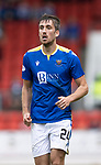 St Johnstone v Motherwell…08.08.21  McDiarmid Park<br />Callum Booth<br />Picture by Graeme Hart.<br />Copyright Perthshire Picture Agency<br />Tel: 01738 623350  Mobile: 07990 594431