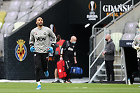 25th May 2021; Gdansk, Poland; Manchester United training at the Stadion Energa Gdańsk prior to their Europa League final versus Villarreal on May 26th;  LEE GRANT