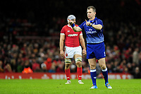 Referee Nigel Owens during the International friendly match between Wales and Barbarians at the Principality Stadium in Cardiff, Wales, UK. Saturday 30 November 2019.