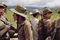 - sandinistas soldiers in Jinotega area....- militari sandinisti nella zona di Jinotega
