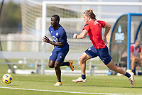 BRADENTON, FL - JANUARY 23: Benji Michel moves with the ball during a training session at IMG Academy on January 23, 2021 in Bradenton, Florida.