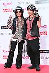 VAMPS, Jun 22, 2013 : MTV VMAJ (VIDEO MUSIC AWARDS JAPAN) 2013 at Makuhari Messe in Chiba, Japan. (Photo by AFLO)