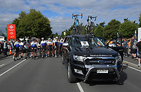 Darren and Joshua Southon tribute ride before the opening ceremony of the NZ Cycle Classic UCI Oceania Tour at Queen Elizabeth Park in Masterton, New Zealand on Tuesday, 14 January 2020. Photo: Dave Lintott / lintottphoto.co.nz