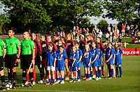 Boyds, MD - Saturday June 03, 2017: Washington Spirit prior to a regular season National Women's Soccer League (NWSL) match between the Washington Spirit and Houston Dash at Maureen Hendricks Field, Maryland SoccerPlex.