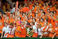 19-9-09, Netherlands,  Maastricht, Tennis, Daviscup Netherlands-France, Supporters