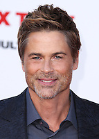 WESTWOOD, LOS ANGELES, CA, USA - JULY 10: Rob Lowe arrives at the World Premiere Of Columbia Pictures' 'Sex Tape' held at the Regency Village Theatre on July 10, 2014 in Westwood, Los Angeles, California, United States. (Photo by Xavier Collin/Celebrity Monitor)