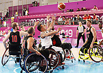 Bo Hedges and Patrick Anderson, Lima 2019 - Wheelchair Basketball // Basketball en fauteuil roulant.<br />