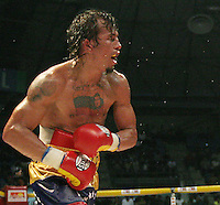 Last fight of Venezuelan World Champion boxer  Edwin Inca   Valero in January 2010-.Valero killed himself April 17th in a jail aftert being arrested for the murder of his wife.