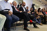 17.05.2018 - Fernando Henrique Cardoso e Bruno Covas durante seminário em SP