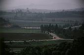 Korean DMZ<br /> May 1986<br /> <br /> P'am Mun Jeon North Korean as seen form the South Korean DMZ