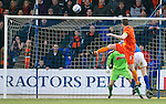 St Johnstone v Dundee United...11.02.12.. SPL.Jon Daly makes it 4-1.Picture by Graeme Hart..Copyright Perthshire Picture Agency.Tel: 01738 623350  Mobile: 07990 594431