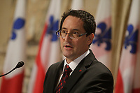Presentation of Montreal City New Executive Committee under Mayor Michael Applebaum who was later arrested on charges of corruption.