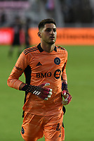 12th May 2021; Fort Lauderdale, Miami, USA; Goalkeeper James Pantemis of CF Montreal at the Inter Miami CF match against CF Montreal on May 12, 2021 at DRV PNK Stadium.