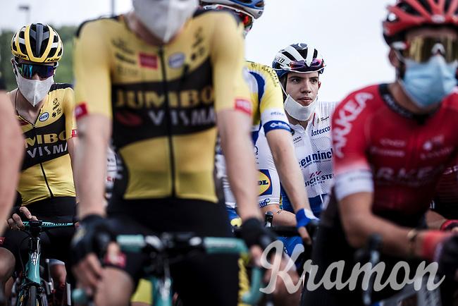 Alvaro Hodeg (COL/Deceuninck Quick Step), pre race focus<br /> <br /> Dwars Door Het Hageland 2020<br /> One Day Race: Aarschot – Diest 180km (UCI 1.1)<br /> Bingoal Cycling Cup 2020