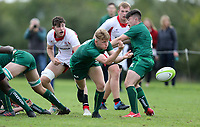 Saturday 8th September 2018 | Ulster U19s vs Connacht U19s<br /> <br /> Evan Kenny during the U19 Inter-Pro between Ulster and Connacht at Bangor Grammar School, Bangor, County Down, Northern Ireland. Photo by John Dickson / DICKSONDIGITAL