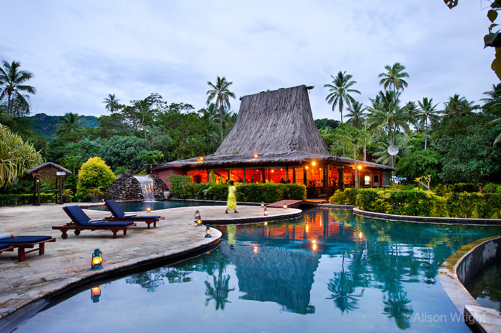 Fiji, Beqa Lagoon Resort.