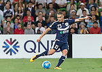 Jai Ingham of the Victory scores the first goal during the ACL first round match between Melbourne Victory (AUS) and Shanghai SIPG (CHN) played at the Rectangular Stadium in Melbourne on Wednesday 24th February, 2016. Picture: Mark Dadswell/Lagardere Sports